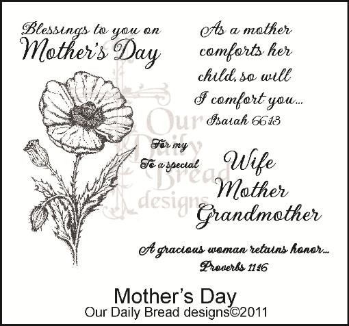 Happy Mother S Day Religious Quotes: » Our Daily Bread Designs