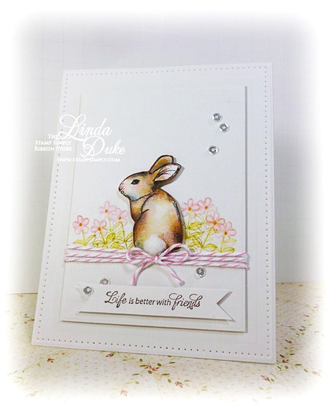 Welcome Spring Bunny 480589