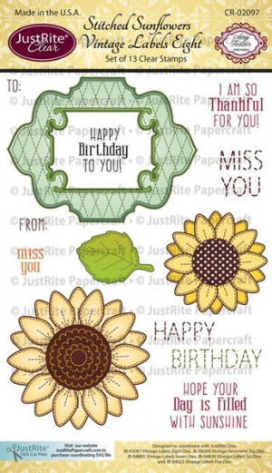 CR-02097_Stitched_Sunflowers_Vintage_Labels_Eight_LG_grande