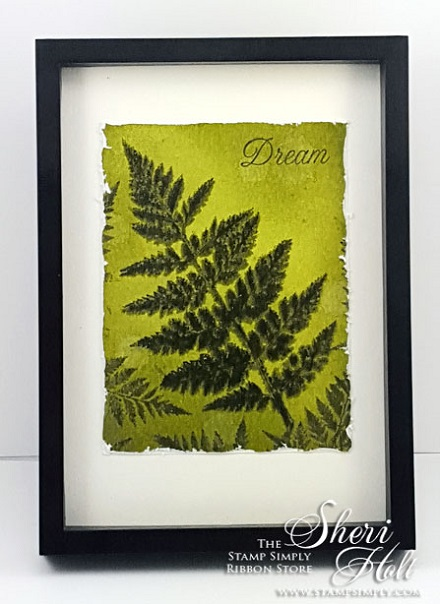 Fern Framed 440604