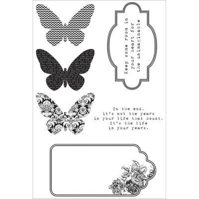 Butterfly Clear Stamp 500500