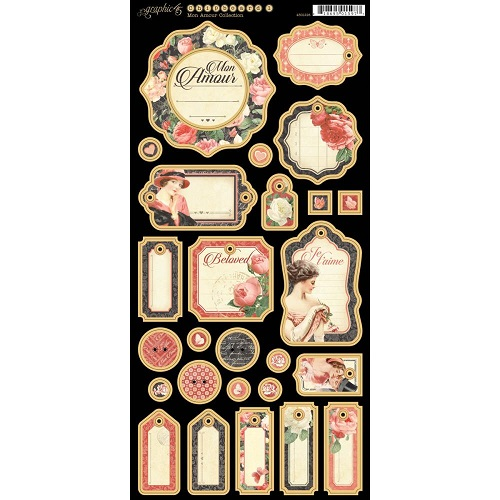 Mon Amour Chipboard 1 500500