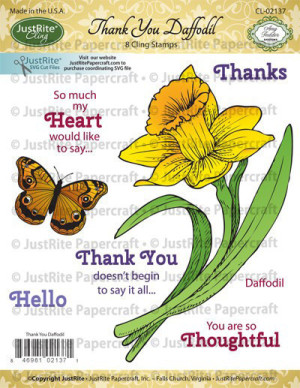 CL-02137_Thank_You_Daffodil_Cling_Stamps_2_grande