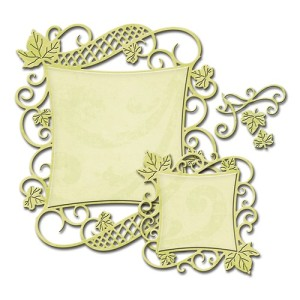 Decorative Curved Squares S4-525 500500