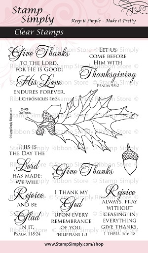 SS-009 Give Thanks Clear WEB 300514