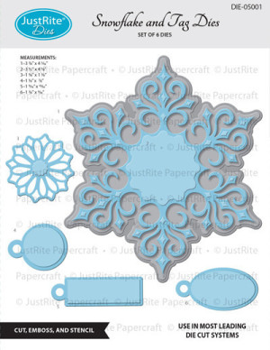 DIE-05001_Snowflake_and_Gift_Tags_Dies_grande
