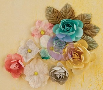 Fabric Flower Bloom Freshly Picked 500