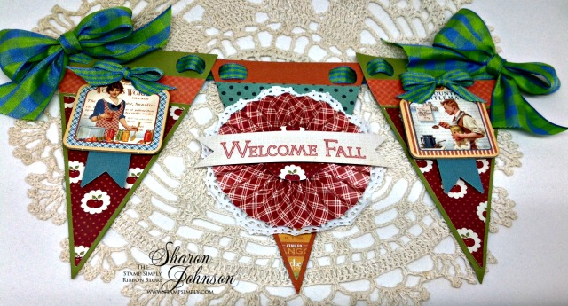 welcome fall banner by sharon johnson
