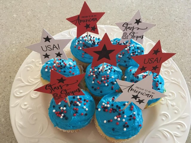 Cupcakes 4thofJuly