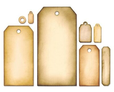 Tag Collection by Tim Holtz (Sizzix)